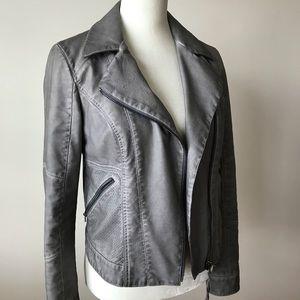 Anthropologie Steel Grey Jacket